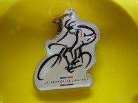 自転車「LA FRANCECAISE DES JEUX」 LOTOフランス国民の宝くじキーホルダー
