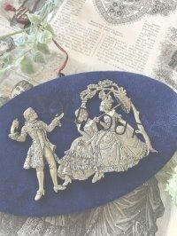 フランスの手彫り錫インテリアフレーム