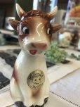 画像5: ヴィンテージ キュートな表情の牛さん ドイツソルト陶器