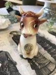画像2: ヴィンテージ キュートな表情の牛さん ドイツソルト陶器