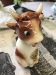 画像4: ヴィンテージ キュートな表情の牛さん ドイツソルト陶器