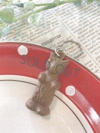 ヴィンテージ BONCOLAのチョコレートフレンチキーホルダー